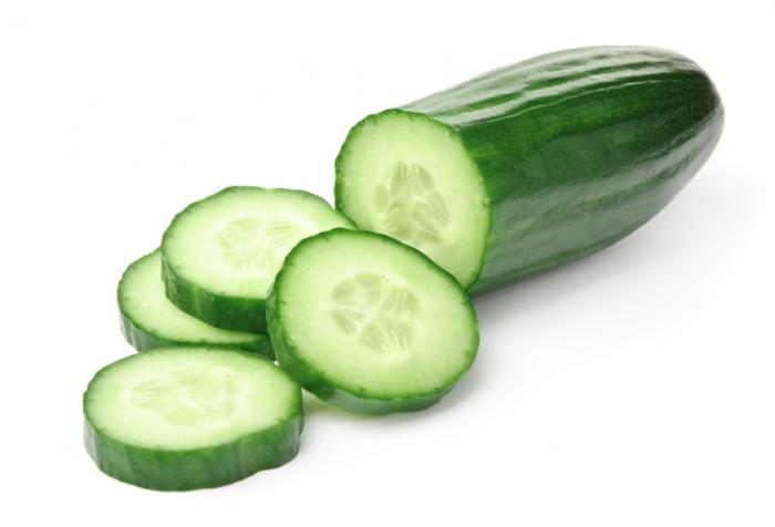 cucumber for water retention