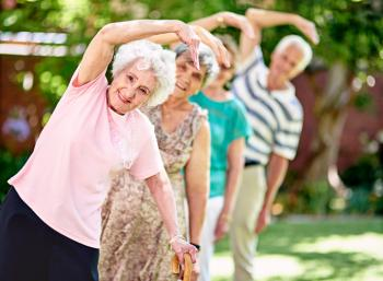 Exercise older adult and health