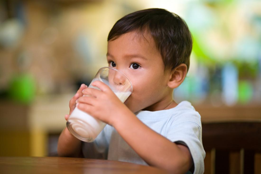 Children Shorter If They Drink Non Cow S Milk Study