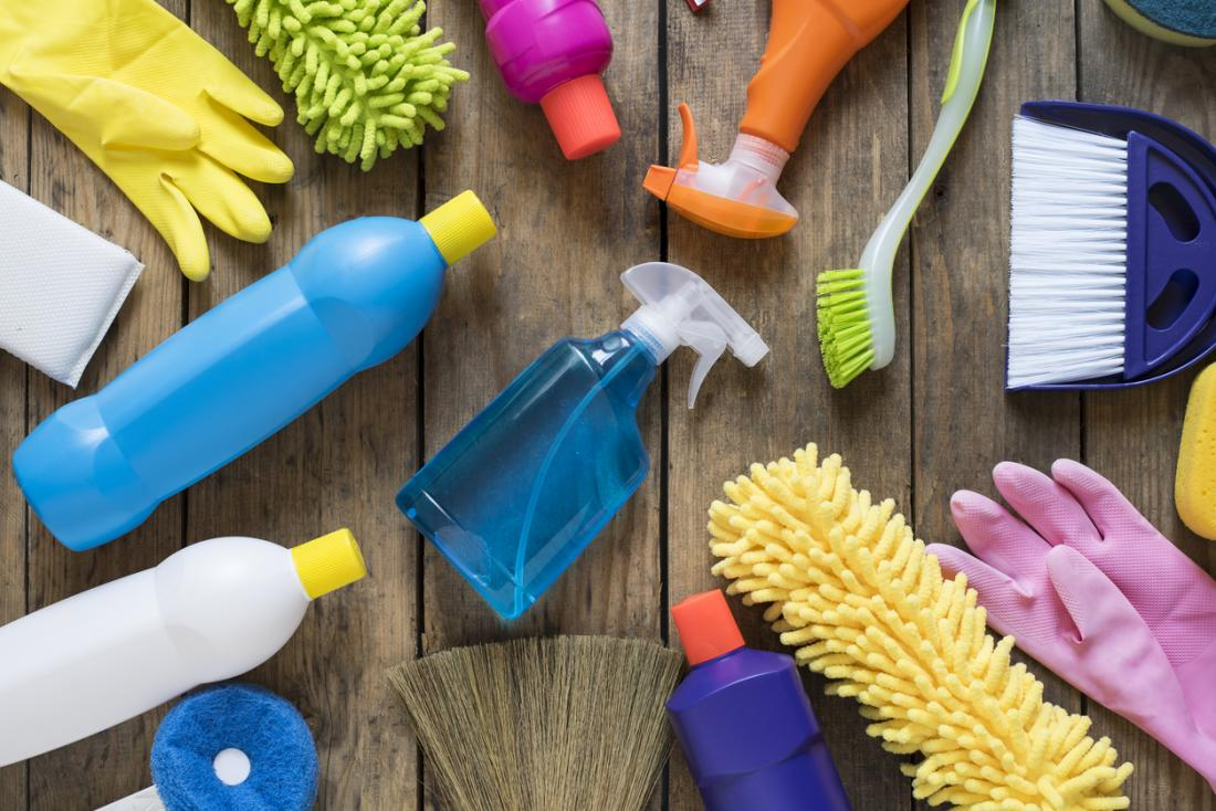 House cleaning chemicals may cause birth defects