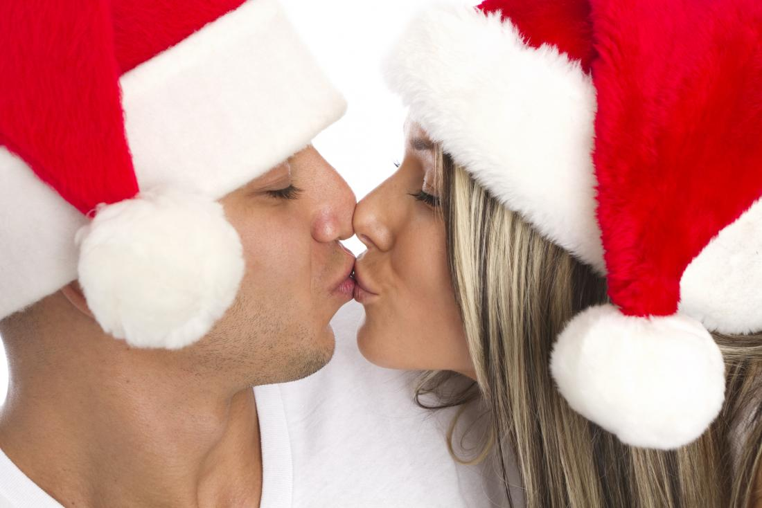 Image result for Festive and flirty: Interest in sex peaks at Christmas