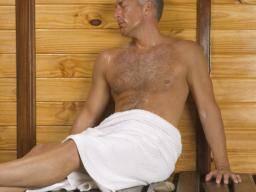 Mature men baths