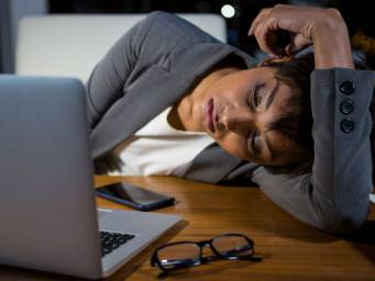 Staying up all night harms women's working memory