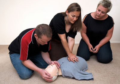 Learning first aid
