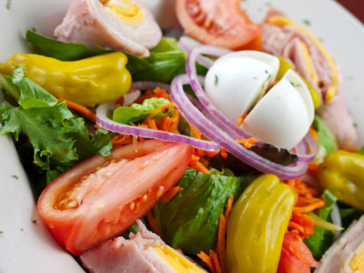 A chef's salad