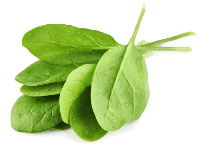 ... Spinach is a great non-heme source of iron, along with lentils, tuna
