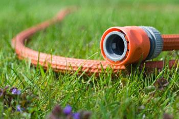 A garden hose