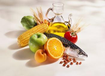 Mediterranean diet cooking ingredients