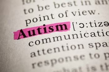 The word 'Autism' highlighted