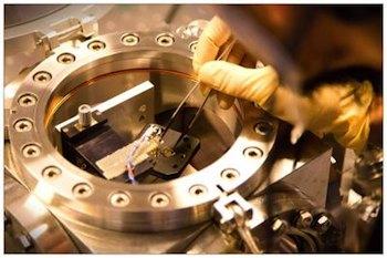 Nanomembrane in experiment