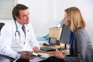 Doctor-patient consultation