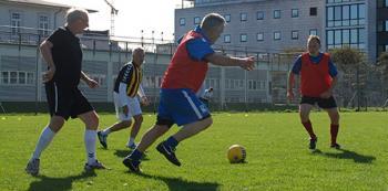 Recreational football training