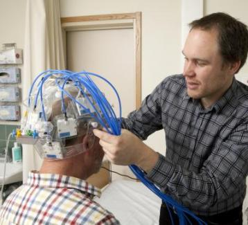 The Prototype of Strokefinder Used in the Clinical Studies