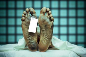 Corpse feet