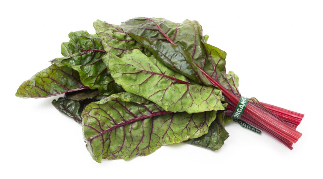 Swiss chard is also commonly known as silverbeet, spinach beet ...