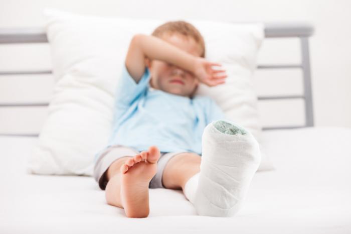 Child bone fracture