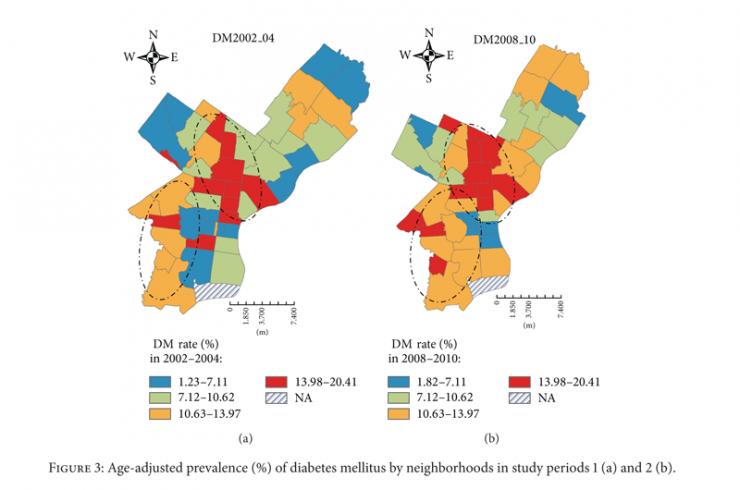 [Study Maps How City Neighborhoods Affect Diabetes Risk ]