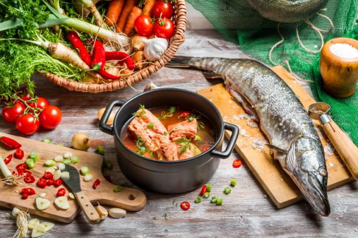 An array of components of the Mediterranean diet.