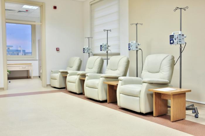 chemotherapy room
