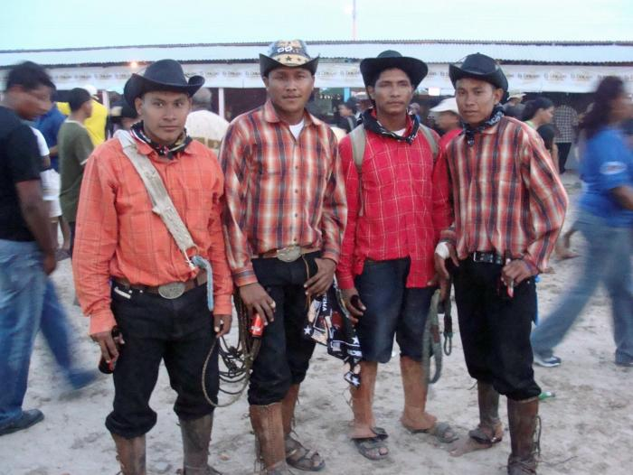 Makushi Cowboys in Guyana