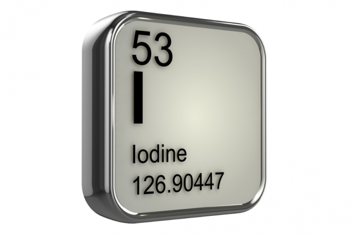 iodine periodic table