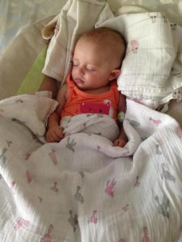 Baby with Angelman Syndrome