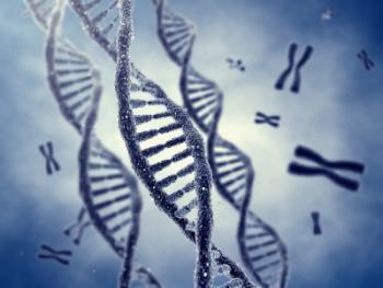[Strands of DNA]
