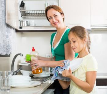 Fewer Allergies Among Children In Dishwasher Free Homes
