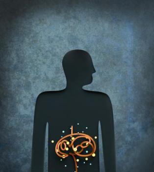 cartoon of gut