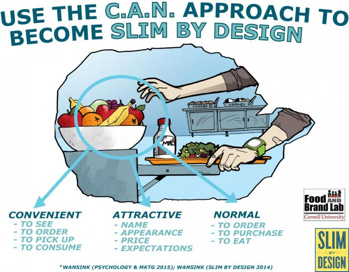 Use the CAN Approach to become Slim by Design