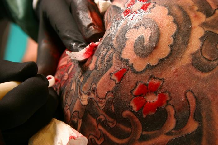 Tattoos may cause years of infection itching and swelling for Tattoos and eczema