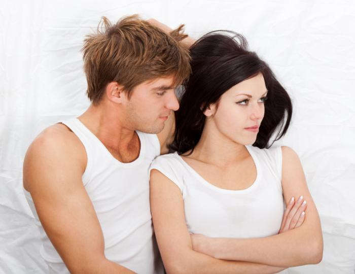 couple having sexual problems