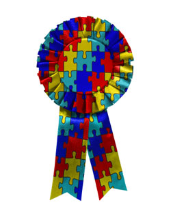 Autism Awareness Ribbon, awareness of Asperger's syndrome